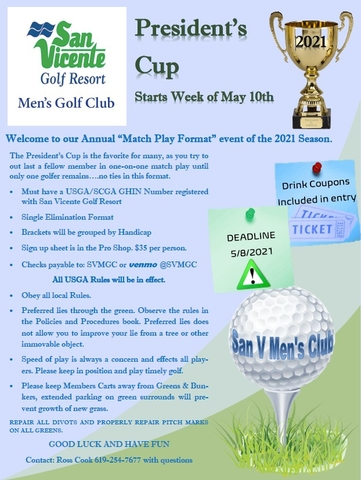 2021 Mens Presidents Cup Flyer E